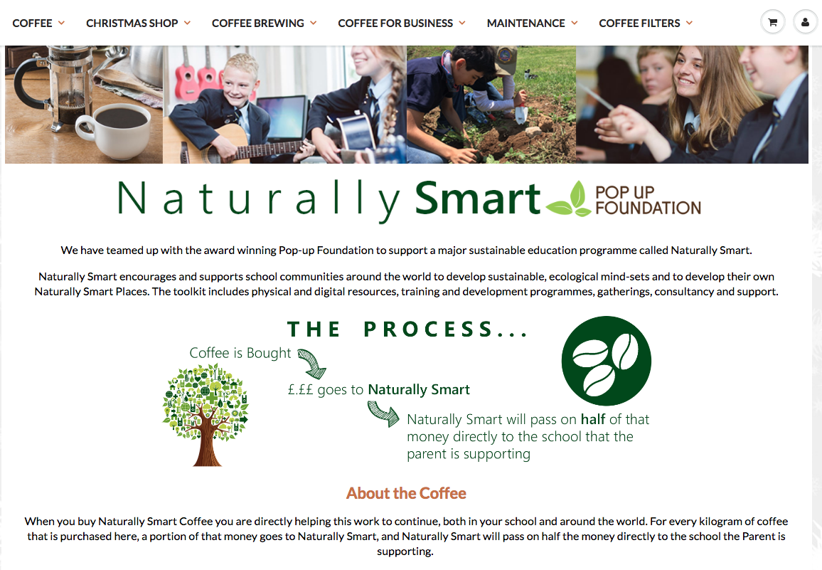Naturally Smart Coffee Project